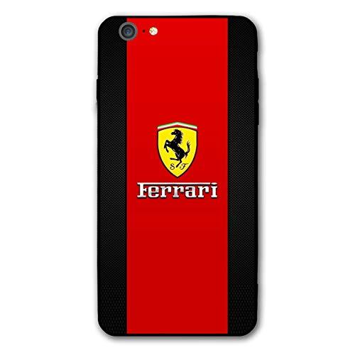 iPhone 6s Case iPhone 6 Case Luxury Car Theme Design Slim and Lightweight Case (Ferrari-6s)