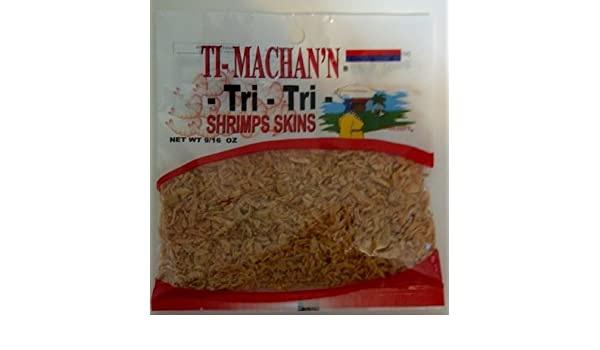 Ti- Machann Tri-Tri Shrimps Skins (272g Each Bag) 6Pack- Product of Thailand: Amazon.com: Grocery & Gourmet Food