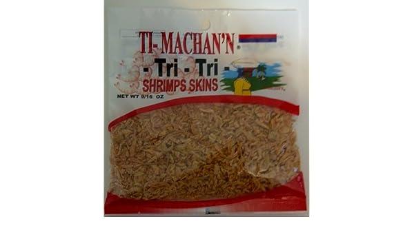 Ti- Machann Tri-Tri Shrimps Skins (272g Each Bag) 6Pack- Product of Thailand: Amazon.com: Grocery & Gourmet Food