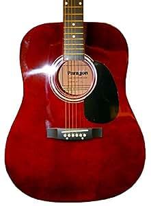 Paragon MD1Dreadnought Guitarra Acústica Rojo Vino