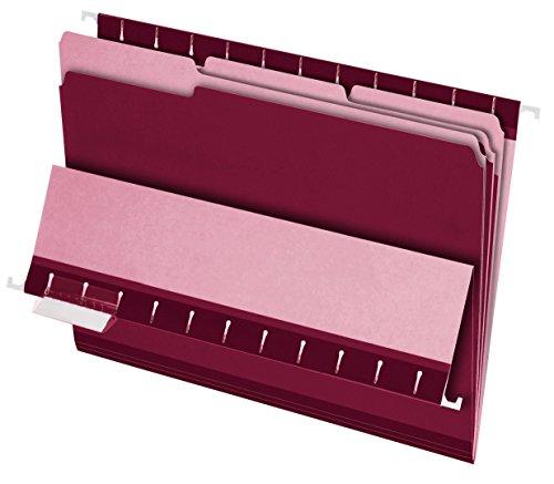 Pendaflex File Folders, Burgundy (PFX421013BUR)