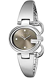 "Gucci Women's YA134503 ""Guccissima"" Stainless Steel Watch"