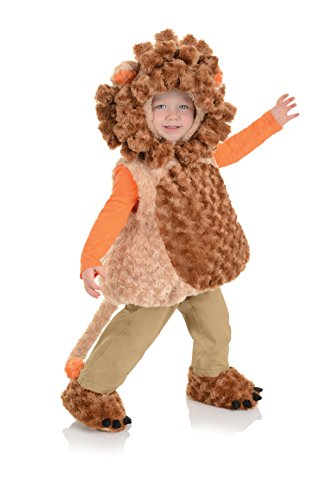 Underwraps Baby's Lion Belly-Babies, Tan/Brown, Large