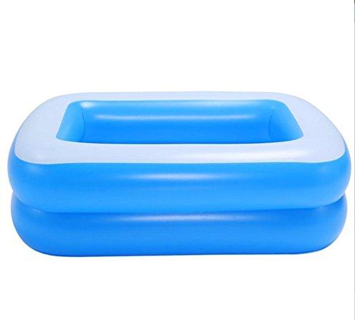 JPYG Inflatable Bathtub, Baby Inflated Bathtub Newborns Swimming Pool Thickening Increase high Adult Bath Portable by JP bathtub