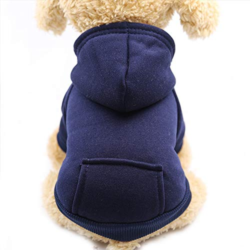 Fanatical-Night Dog Hoodies Pet Clothes for Dogs Coat Jackets Cotton Dog Clothes Puppy Pet Overalls for -