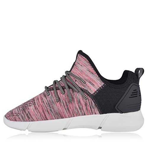 cortica Fly Knit Turnschuhe Damen Pink/Schwarz Sneakers Sport Schuhe Schuhe