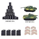 Military Playset, 250 PCS Army Men Action Figures