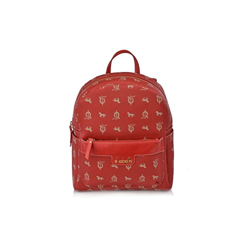 Mujer Rojo El 1208 Caballo Para Outlet amp; Victorio Lucchino Mochila IwxqACwOU