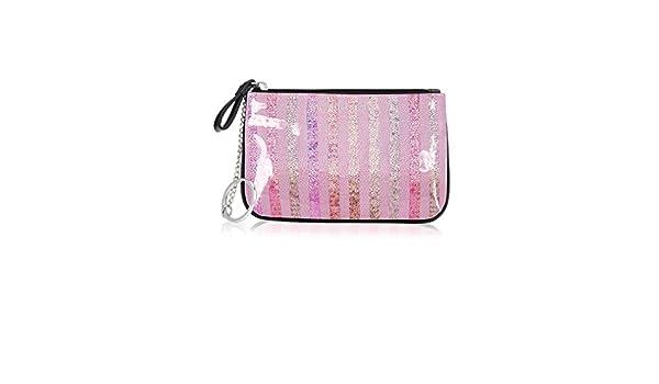Victorias Secret pequeño PVC nuevo Sequin-Monedero, diseño ...