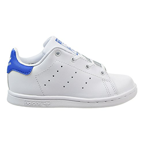 Stan Adidas Us Smith Medium Originals SneakerWhitewhiteblue9 Boys' Toddler I OkiXuPZ