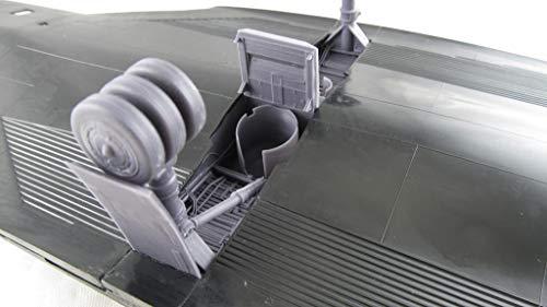 Metallic Details SR-71 Blackbird. Landing Gears (Testors/Italeri) 1/48 MDR4824 3