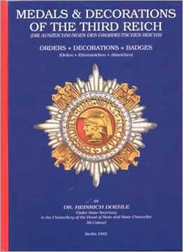 Insignia = Die Auszeichnungen Des Grossdeutschen Reichs : Orden Medals /& Decorations of the Third Reich: Badges Decorations Abzeichen Ehrenzeichen