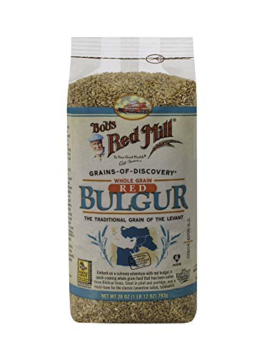 Bob's Red Mill Bulgur Hard Red Wheat, 28-ounces (Pack of4) -