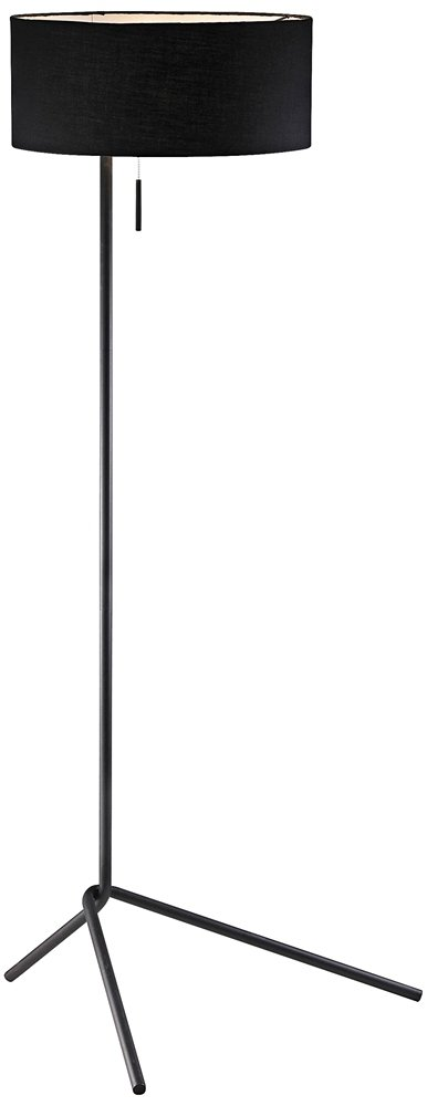 Adesso 6191 01 twixt 59 floor lamp black smart outlet compatible adesso 6191 01 twixt 59 floor lamp black smart outlet compatible reading lamp amazon aloadofball Gallery