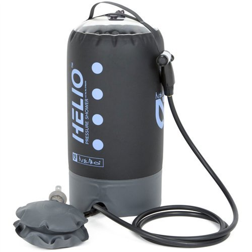 (Nemo Helio Portable Pressure Shower with Foot Pump, Periwinkle)