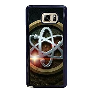 Wunatin Hard Case ,Samsung Galaxy Note 5 Cell Phone Case Black Legends of tomorrow logo [with Free Tempered Glass Screen Protector] BA-9892926