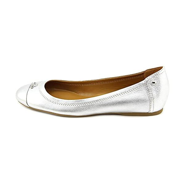 Coach Womens Chelsea Cap Toe Slide Flats