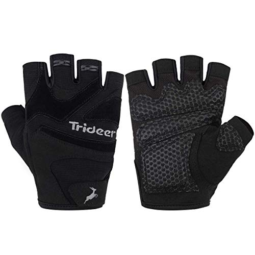 Aqf Weight Lifting Gloves Ultralight Breathable Gym Gloves: Trideer Ultralight Weight Lifting Gloves With Anti-slip 3