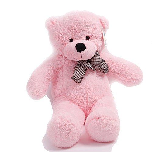 Stuffed Animal Teddy Bear Plush Soft Toy 100CM Huge Soft Toy Pink - 6