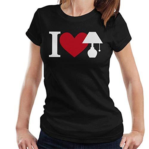 I Love Lamp Brick Tamland Anchorman Women's T-Shirt]()