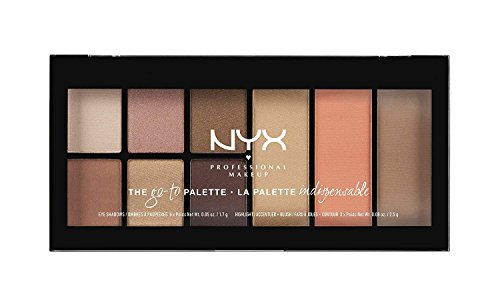 NYX PROFESSIONAL MAKEUP Go-to Palette, Wanderlust, 0.54 (Ultimate Powder Blush)