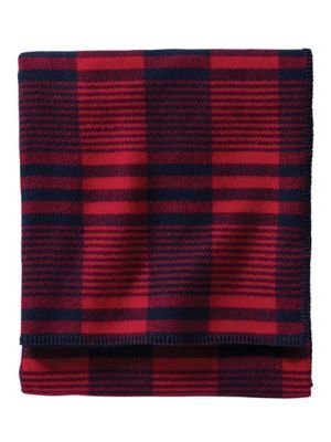 Pendleton Wool Plaid Stripe Blanket