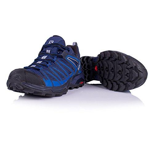 Salomon Herren X Ultra 3 Premiers Gtx Trekking- & Wanderhalbschuhe Blau (bleu / Bleu / Alliage 000 Nautique Médiévale)