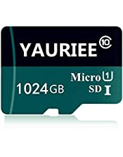 1TB Micro SD Card Designed for Android Smartphones, Tablets Class 10 SDXC Memory Card with Adapter