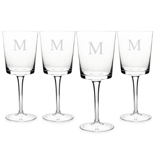 Cathys Concepts Contemporary Glasses Monogrammed product image