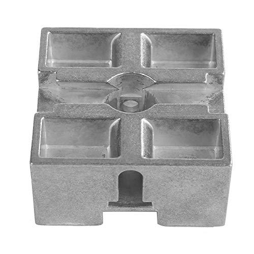 [해외]Metal Buffer Block 5050mm Zinc Alloy Electroplating Metal Central Block Z030M Metal Intermediate Piece for Industrial / Metal Buffer Block 5050mm Zinc Alloy Electroplating Metal Central Block Z030M Metal Intermediate Piece for Indu...