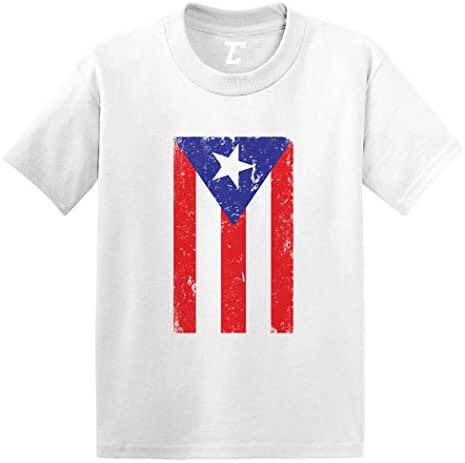 Puerto Rico - Distressed Flag Strong Infant/Toddler Cotton Jersey T-Shirt