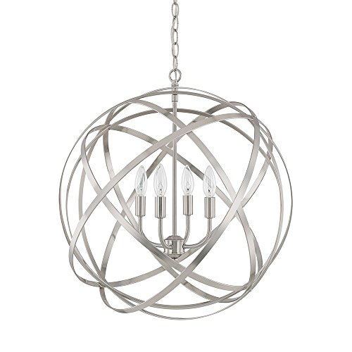 Capital Lighting 4234BN Four Light Pendant - Capital Lighting Four