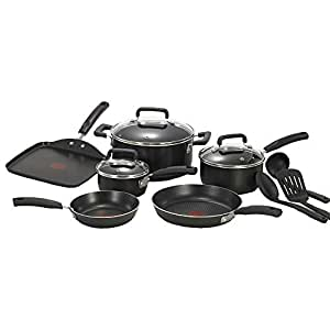 Tefal - Ambiance 6pc Cookware Set with Set of 3 Bonus Utensils