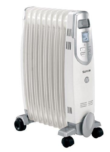 Supra OLEO 2200 Radiateur à bain d'huile, Blanc OLEO-2200