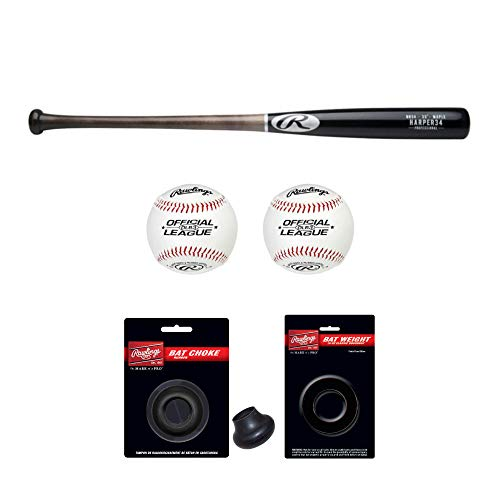 Rawlings Bryce Harper Maple Pro Label Wood Bat (32
