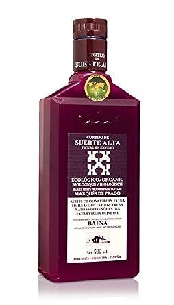 Cortijo Suerte Alta Picual 500 ml - Aceite de oliva virgen extra por Oliva Oliva Internet SL