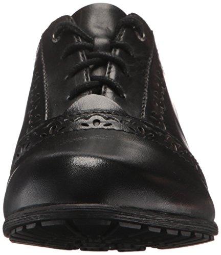 Ch Oxford Gratasha Rockport Pour Black Lthr Chaussures Femme pwx51