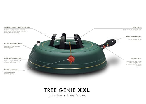 Krinner's Tree Genie XXL, Christmas Tree Stand