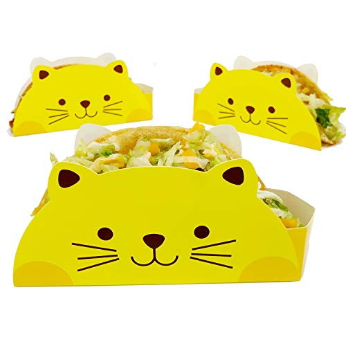 (Cat Taco Holder by KitchNX, Ideal For 6