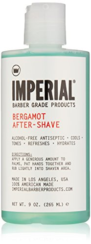 Imperial Barber Grade Products Bergamot After-Shave Alcohol Free