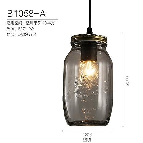 sencilla lámpara colgante LED lámpara colgante contemporánea Indoor ...
