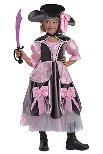 For Pirate Vivian Girls The Costumes (Princess Paradise Vivian the Pirate Costume, Multicolor, X-Large)