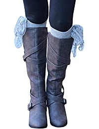 Women's Fashion Knee High Casual Riding Boot Side Zip...