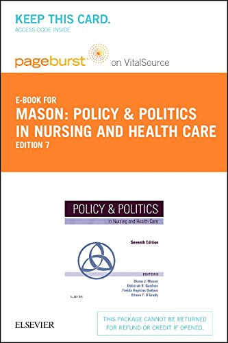 Policy and Politics in Nursing and Health Care - Elsevier eBook on VitalSource (Retail Access Card), 7e
