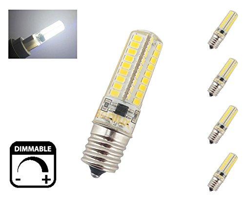 Intermediate Base Led Light Bulbs: Bonlux E17 LED Appliance Bulb 5W Dimmable 110V Intermediate Base LED  Daylight Bulb 40W LED Replacement(Pack of 4),Lighting