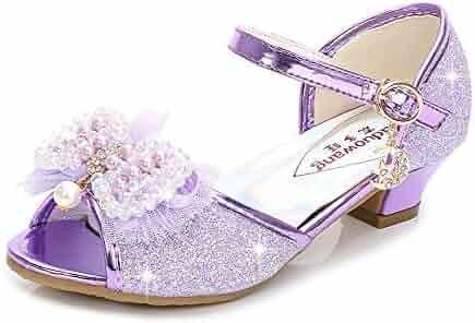 0a93d273d1a1 Exclusive Shoebox Kid s Fashion Little Girl s Glitter Pretty Party Dress  Pumps Sandals