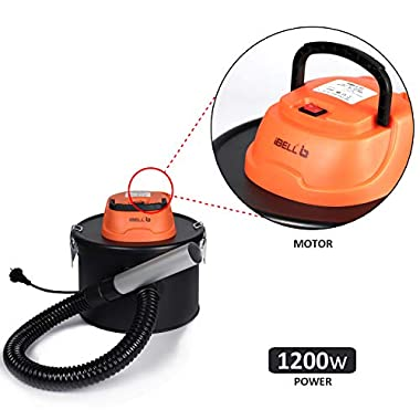 iBELL 0812WB 1200Watt 8 Litre Quick Clean Vacuum Cleaner with HEPA Filter. Compact, Powerful & Handy for Furniture/Curtains/Windows/Sofas/Cars, Black 13