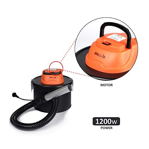 iBELL 0812WB 1200Watt 8 Litre Quick Clean Vacuum Cleaner with HEPA Filter. Compact, Powerful & Handy for Furniture/Curtains/Windows/Sofas/Cars, Black 6