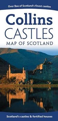 Collins Castles Map of Scotland par Harper Collins