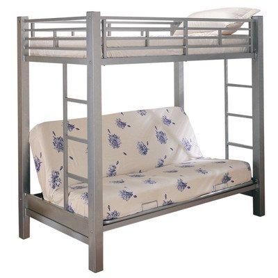 Amazon Com Twin Full Bunk Bed Ladder Bedroom Furniture Children